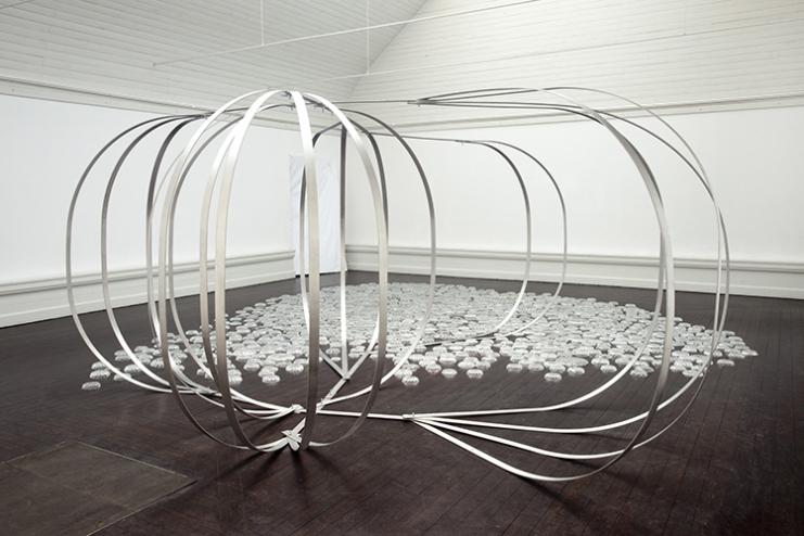 Eva Steen Christensen. Forbitten Landscape
