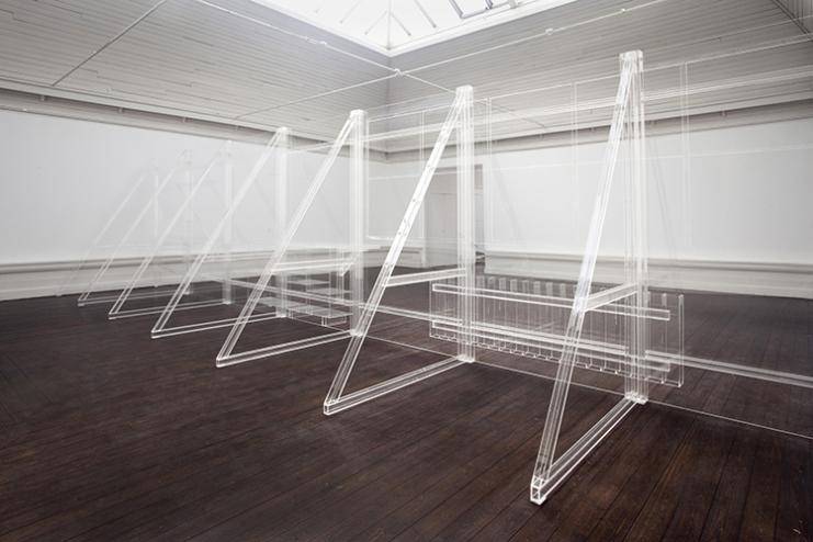 Front Matter - reconstruction of my studio. Tina Maria Nielsen